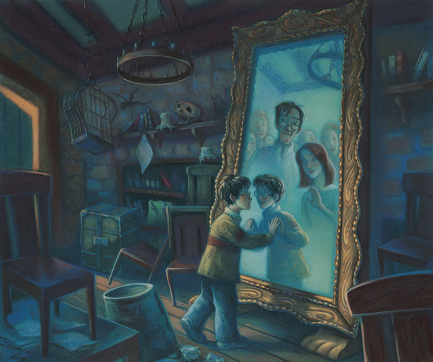 Harry Potter mirror picture