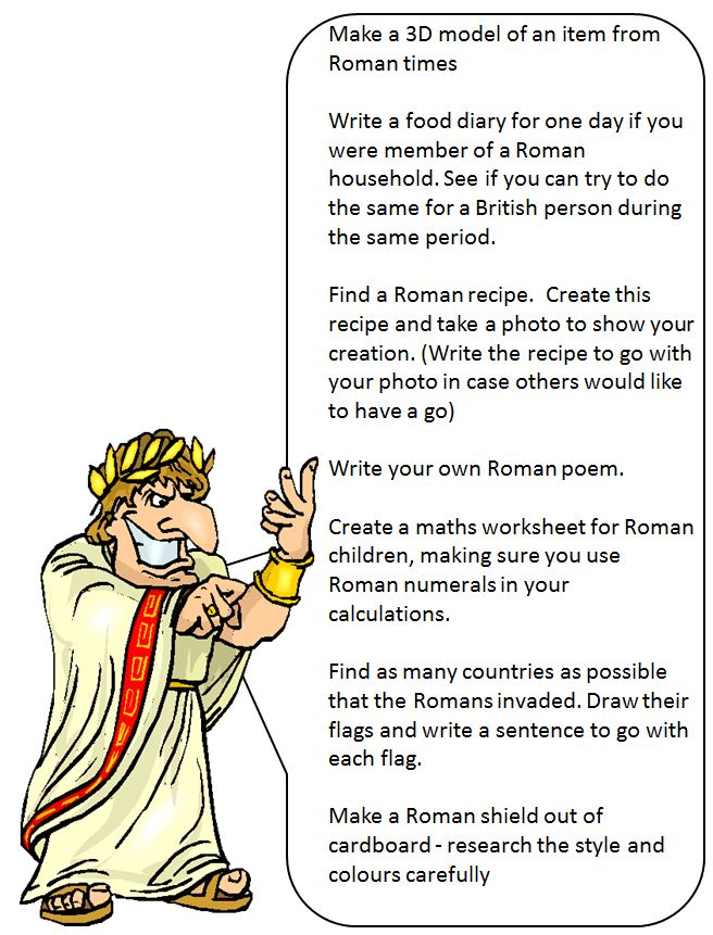 Writing homework help the romans