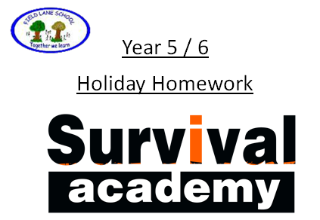 survival academy holiday homework